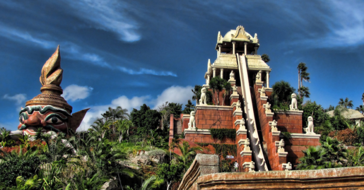 tower of power del siam park